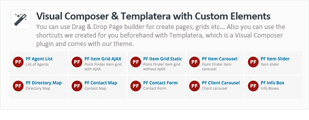 Directory WordPress Theme - Point Finder